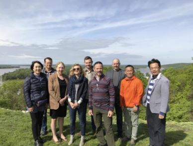 Image of Joint Japan/US Research Team in Grafton, Illinois